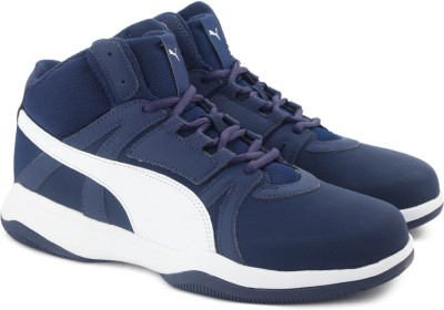bdd2f1637f1001 49% OFF on Puma Rebound Street Evo SL IDP Sneakers For Men(Blue ...