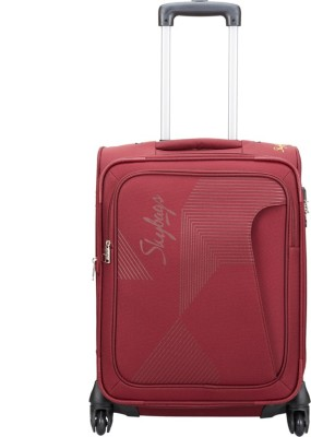 Skybags Footloose Hamilton Expandable  Cabin Luggage - 21 inch(Red) at flipkart