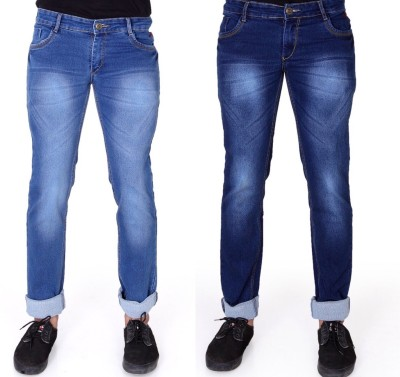 FabTag - Ragzo Slim Men Multicolor Jeans(Pack of 2)