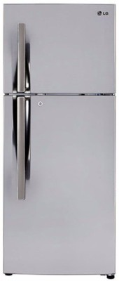 LG 308 L Frost Free Double Door Refrigerator(Shiny Steel, GL-I322RPZY)