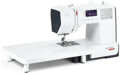 Bernette B38 Computerised Sewing Machine (White)