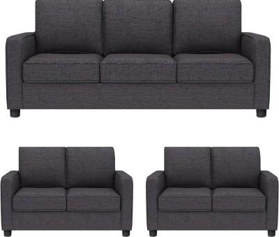ddcca6631b 43% OFF on GIOTEAK Fabric 3 + 2 + 2 GREY Sofa Set on Flipkart    PaisaWapas.com