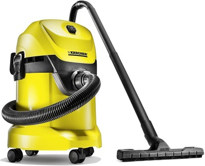 Karcher WD3* EU-I/WD3* EU Wet & Dry Vacuum Cleaner(Black, Yellow)