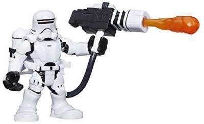 Playskool Heroes Galactic Heroes Star Wars First Order Flametrooper(Multicolor)