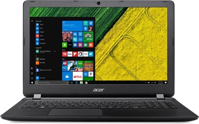 Acer Aspire Pentium Quad Core - (4 GB/500 GB HDD/Windows 10 Home) ES1-533 Notebook(15.6 inch, Black, 2.4 kg)