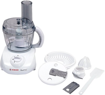 Singer Food Chef 350 W Food Processor(White) at flipkart