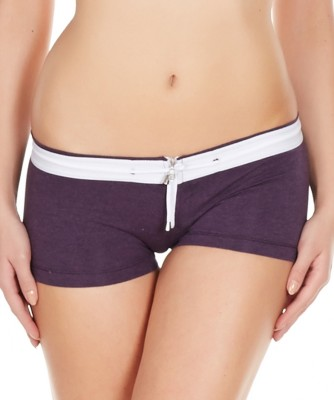 La Intimo Women's Boy Short Purple Panty(Pack of 1) at flipkart
