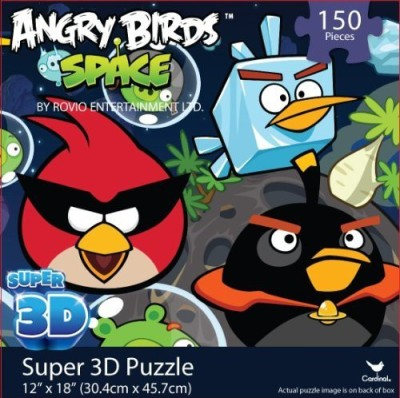 Angry Birds Space Super 3D Puzzle(150 Pieces)