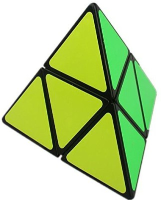 Cuberspeed Shengshou Pyramorphix Black Magic Cube Pyraminx 2X2 Speed Cube(1 Pieces)  available at flipkart for Rs.2365