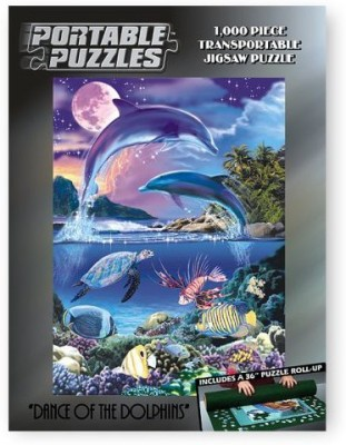 TDC Games Portable Puzzles - Dance Of The Dolphins(1000 Pieces)
