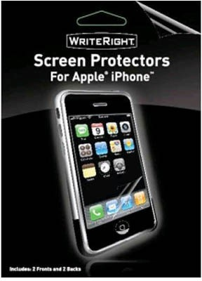 Body Glove Screen Guard for iPhone 4/4s iPhone 3G/3GS