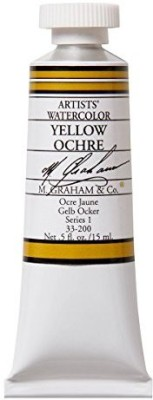 M Graham & Co M. 1/2 Ounce Tube Watercolor Paint, Ochre  available at flipkart for Rs.1852