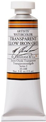 M Graham & Co M. 1/2 Ounce Tube Watercolor Paint, Sparent Iron Oxide  available at flipkart for Rs.1765