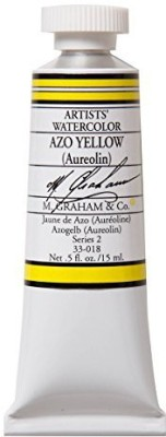 M Graham & Co M. 1/2 Ounce Tube Watercolor Paint, Azo  available at flipkart for Rs.1793