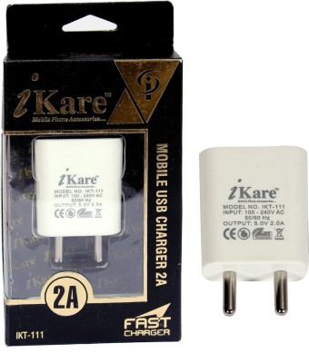 iKare IKT-111 Android Travel Mobile Charger(White)