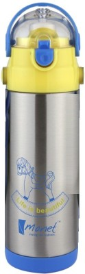 Monet FLASK-MODISH 500 ml Flask(Pack of 1, Silver)
