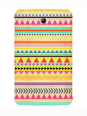 The Little Shop Back Cover for SAMSUNG GALAXY TAB 3 T211, P3200, P3210(Multicolor, Silicon)