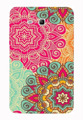 The Little Shop Back Cover for SAMSUNG GALAXY TAB 3 NEO T110, T111(Multicolor, Silicon)