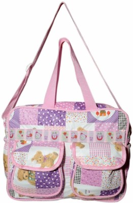 Instabuyz Baby Changing Mother Bag Large  Purple Instabuyz Diaper Bags