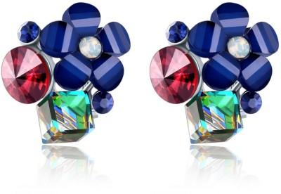Shimmer Divine Luxuria Crystal Copper Stud Earring Shimmer Divine Earrings