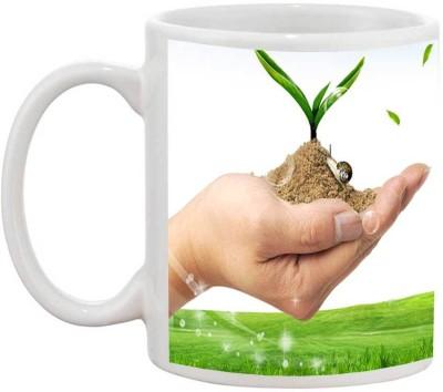 TIA Creation Beautiful My Life - 199 Ceramic Mug(200 ml)  available at flipkart for Rs.185