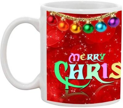 TIA Creation Merry Christmas - 399 Ceramic Mug(200 ml)  available at flipkart for Rs.199