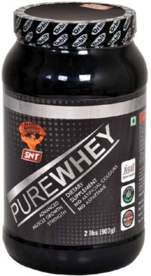 SNT PURE Whey Protein(907 g, STRAWBERRY)  available at flipkart for Rs.1900