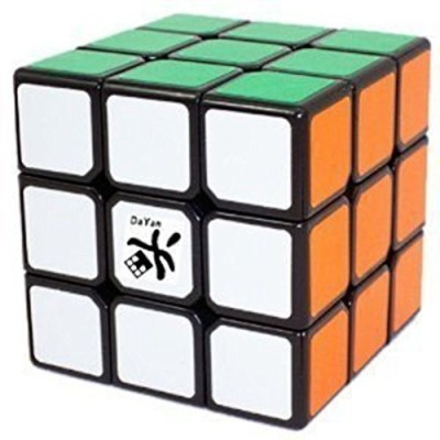 Dayan Zhanchi Mini 3X3X3 Magic Cube Speed Puzzle, 4.2 Cm, Black(1 Pieces)  available at flipkart for Rs.2479