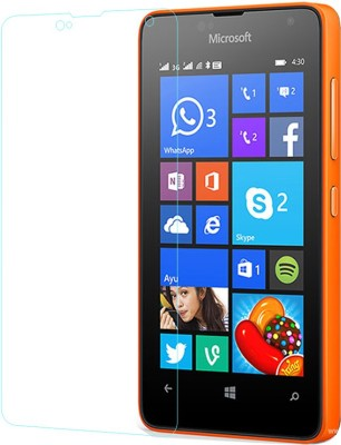Lively Tempered Glass Guard for Nokia Lumia 430(Pack of 1)