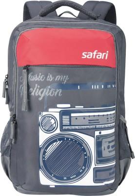Safari Boombox Grey 37.0 L Backpack(Grey)