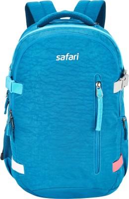 Safari Signature Blue 42.0 L Laptop Backpack(Blue)