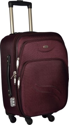 TREKKER TTB PANDA20 PL Expandable  Cabin Luggage   20 inch Purple