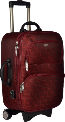 TREKKER TTB ROYAL20 RED Expandable Cabin Luggage   20 inch TREKKER Suitcases