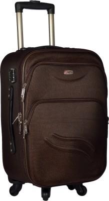TREKKER TTB PANDA24 BR Expandable Check in Luggage   24 inch