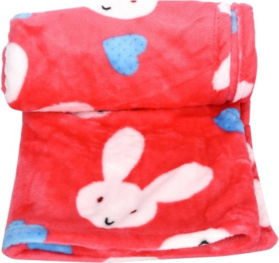 Goodstart Cartoon Crib Blanket(Microfiber, Red) at flipkart