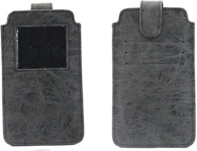 JoJo Pouch for LG L70 Dual D325(Orange, Artificial Leather)