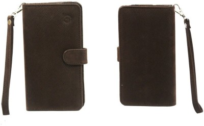 JoJo Pouch for LG L70 Dual D325(Brown, Artificial Leather)