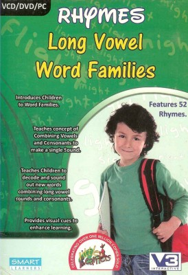 Smart Learning Rhymes Long Vowel Word Families(VCD)  available at flipkart for Rs.125