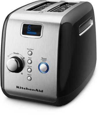 KITCHEN AID 5KMT223GOB 1100 W Pop Up Toaster(Black)