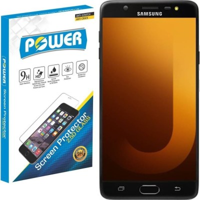Power Tempered Glass Guard for Samsung Galaxy J7 Max(Pack of 1)