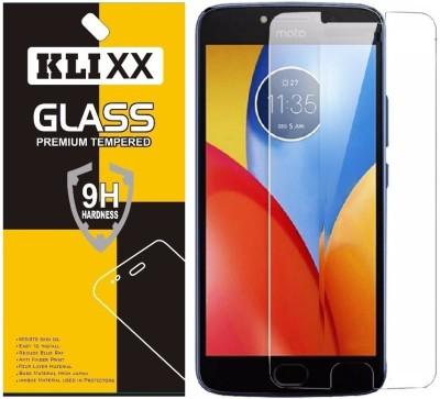 Klixx Tempered Glass Guard for Motorola Moto E4 Plus(Pack of 1)