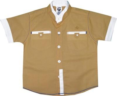Kooka Kids Boys Solid Casual Multicolor Shirt at flipkart