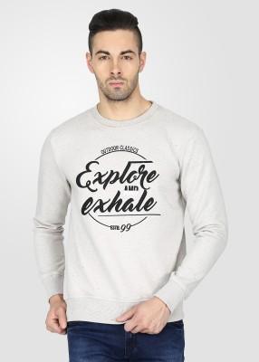T-Base Full Sleeve Printed Men's Sweatshirt