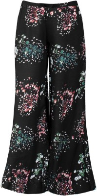 Naughty Ninos Relaxed Girls Black Trousers at flipkart
