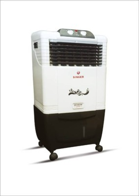 Singer Atlantic Junior Personal Air Cooler(White, 50 Litres)