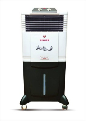 Singer Atlantic Jumbo Personal Air Cooler(White, Black, 50 Litres)