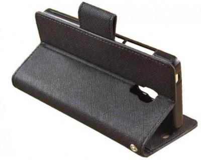 Karimobz Flip Cover for Mi Redmi Note 4 Black