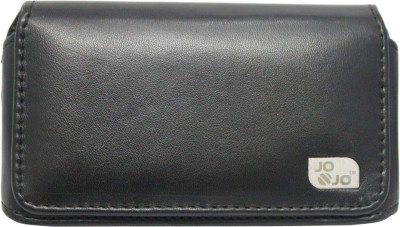 J Pouch for Intex Aqua Fish(Black, Artificial Leather)