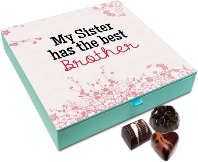 Buy Chocholik Rakhi Gift I Am Very Lucky To Have An Awesome Sister