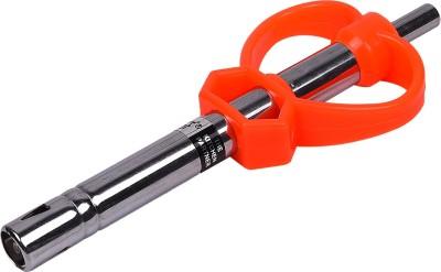 Brecken Paul Single Spark Piezo Electronic Steel Gas Lighter(Orange, Steel, Pack of 1)  available at flipkart for Rs.299